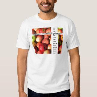 Cyder - sidra real de la lleno-fruta remera