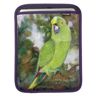 Cydney Yellow Naped Amazon Parrot iPad Sleeves