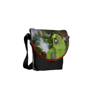 Cydney Yellow Naped Parrot Courier Bags