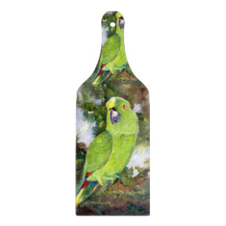 Cydney Yellow Naped Parrot Cutting Board