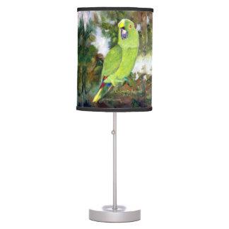 Cydney Yellow Naped Parrot Desk Lamp