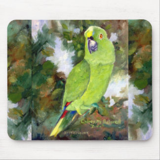 Cydney Yellow Naped Parrot Mouse Pad