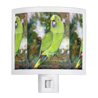 Cydney Yellow Naped Parrot Night Light