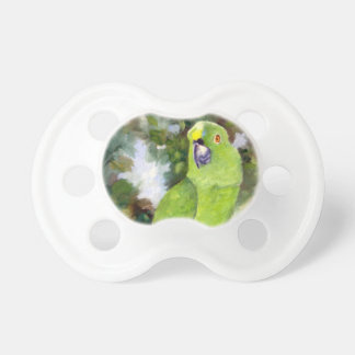 Cydney Yellow Naped Parrot BooginHead Pacifier