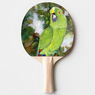 Cydney Yellow Naped Parrot Ping-Pong Paddle