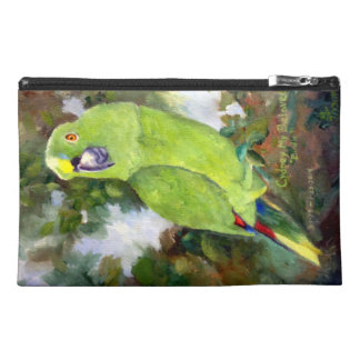Cydney Yellow Naped Parrot Travel Accessory Bag