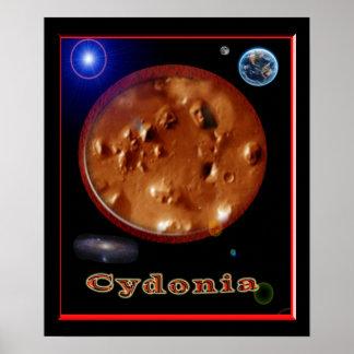 Cydonia mars poster