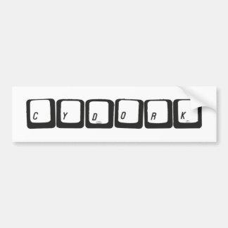 Cydork Bumper Sticker