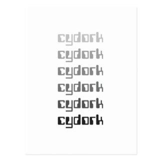Cydork geek products postcard