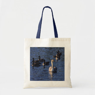 Cygnet and Geese Tote Bag