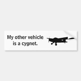 Cygnet Bumper Sticker