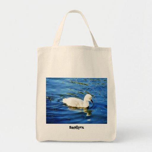Cygnet, smallfox grocery tote bag