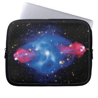 Cygnus A Galaxy X-Ray Montage Outer Space Photo Computer Sleeve