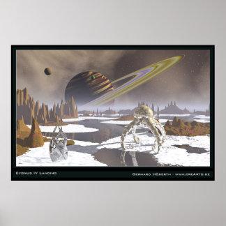 Cygnus IV Landing Poster