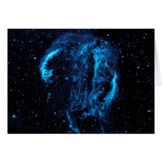 Cygnus Loop Nebula Card