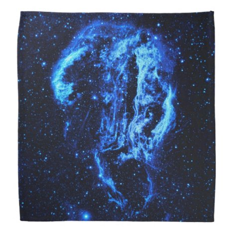 Cygnus Loop Nebula outer space picture Bandana