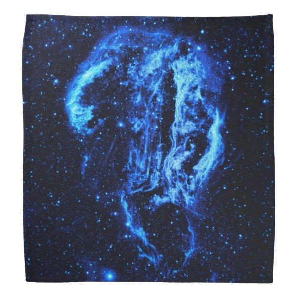 Cygnus Loop Nebula outer space picture Bandana