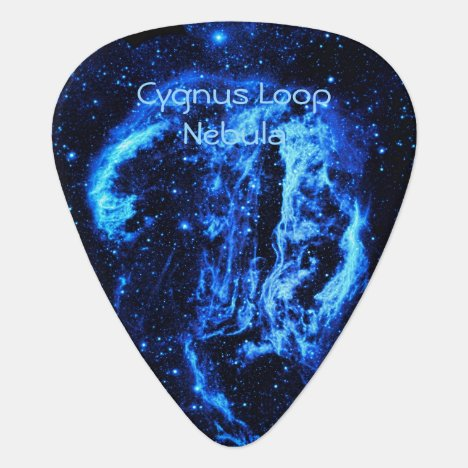 Cygnus Loop Nebula outer space picture Guitar Pick