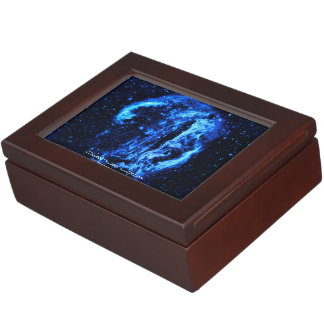 Cygnus Loop Nebula outer space picture Memory Box