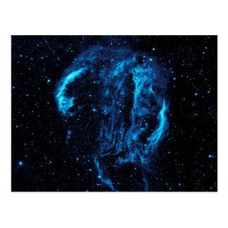 Cygnus Loop Nebula Postcard