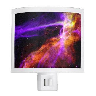 Cygnus Loop Supernova Blast Wave Night Light