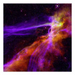 Cygnus Loop Supernova Blast Wave - Space Poster