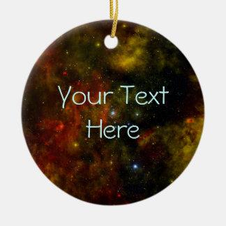 Cygnus OB2 Star Cluster Ceramic Ornament