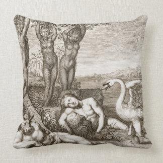 Cygnus Transformed into a Swan and Phaeton's Siste Pillow