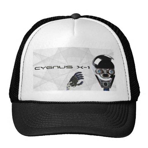Cygnus X-1  robot logo T's & bit's Mesh Hats