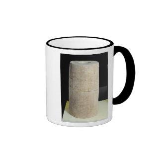 Cylinder B with a votive inscription Coffee Mug