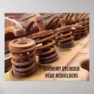 Cylinder Head Rebuilders Posters