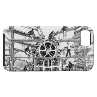 Cylinder printing press invented by Richard March iPhone SE/5/5s Case