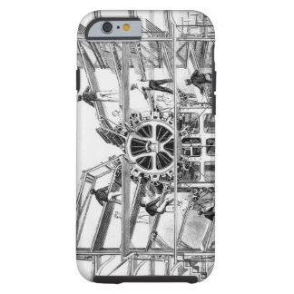 Cylinder printing press invented by Richard March Tough iPhone 6 Case