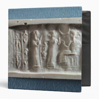 Cylinder seal depicting an evocation to the binder