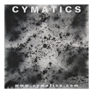 CYMATICS GRAPHITE I POSTER