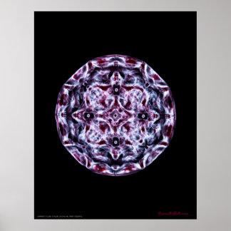 Cymatics: Music Note A Piano Poster