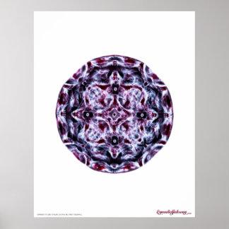 Cymatics: Nota de la música un piano Impresiones