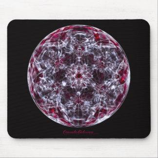 Cymatics: Serie de la onda cerebral del cubo de Me Alfombrilla De Ratones