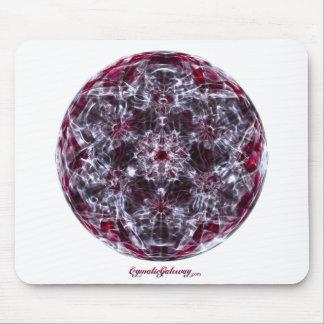 Cymatics: Sonido de la onda cerebral del cubo de M Alfombrillas De Ratones