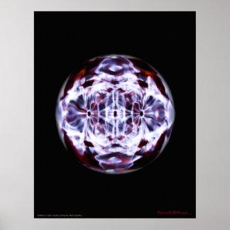 Cymatics Visible Sound Beta State Poster