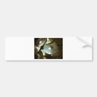 Cymbal Chandelier Bumper Sticker