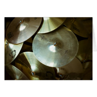 Cymbal Chandelier Card