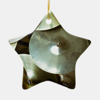 Cymbal Chandelier Ceramic Ornament