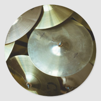Cymbal Chandelier Classic Round Sticker