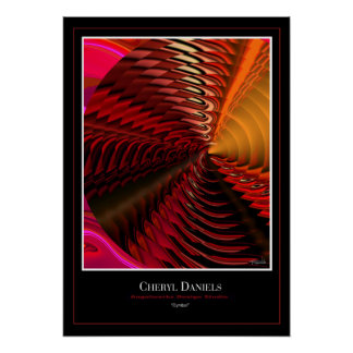 Cymbal Poster (Vermillion)