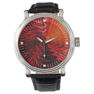 Cymbal (red) wrist watch