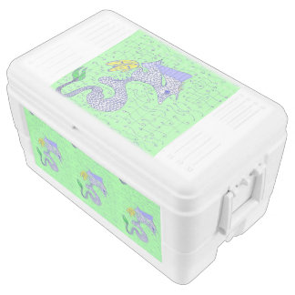 Cymbal The Little Seahorse Chest Cooler