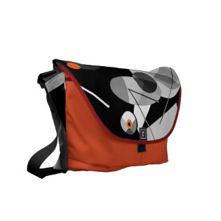 Cymbaline-2 Bold and Musical Abstract Messenger Bags