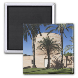 Cymbalista Synagogue 2 Inch Square Magnet