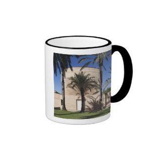 Cymbalista Synagogue Ringer Coffee Mug